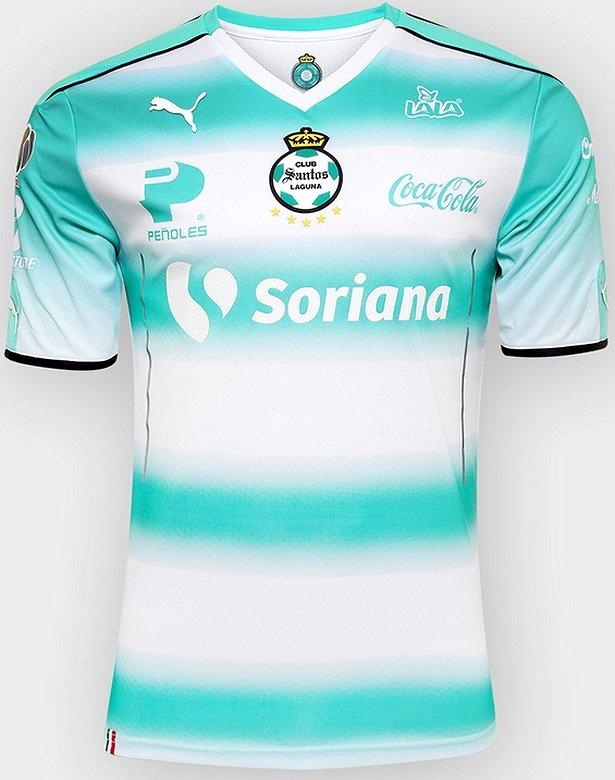 7ae977b7a9ee1 Puma divulga as novas camisas do Santos Laguna - Show de Camisas