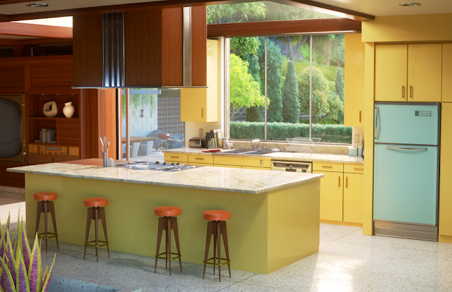 Incredibles 2 house on Zillow - Kitchen
