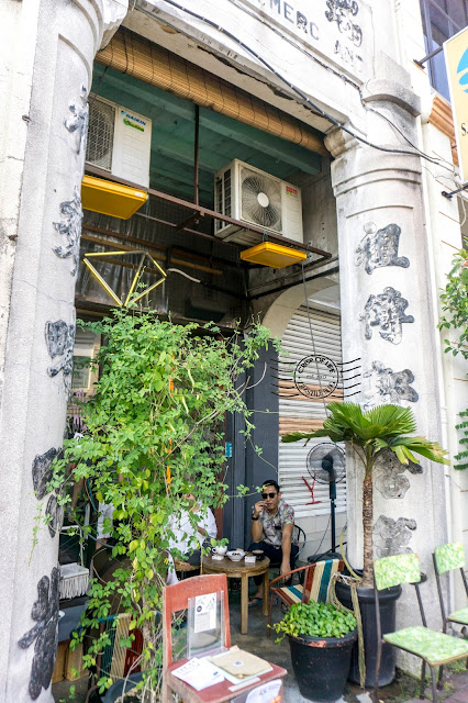 Narrow Marrow Cafe Carnarvon Street Georgetown Penang