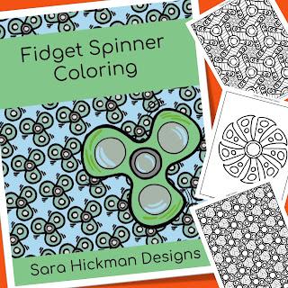 Fidget Spinner Coloring