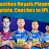 RR Team 2019 Players List, Captain, Coach, Rajasthan Royals squad in IPL 2019