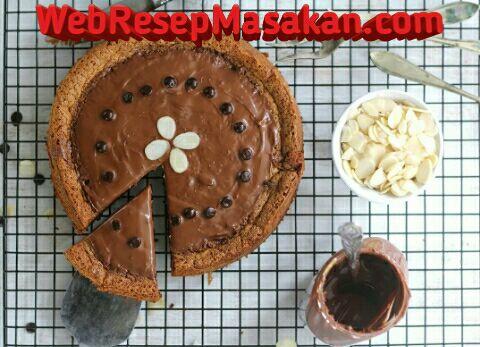 Resep Nutella cake ncc, Flourless nutella Cake,