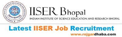iiser-job-indian-institute-of-science-education-and-research-recruitment