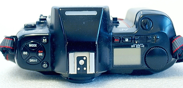 Nikon F-801s, Top
