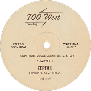 the ULTIMATE PSYCHEDELIC VINYL hq: Zerfas - s/t (1973) [1994 Master