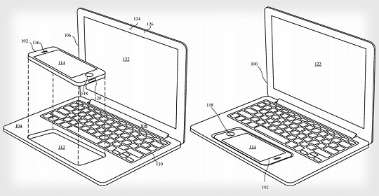 Apple Patent Application Details Accessory that Can Transform an iPhone into a MacBook