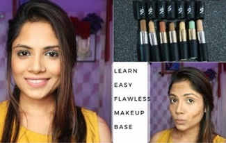 How to Get Flawless Makeup Base Using NY Bae Concealer Stick | Makeup Under INR 100/-