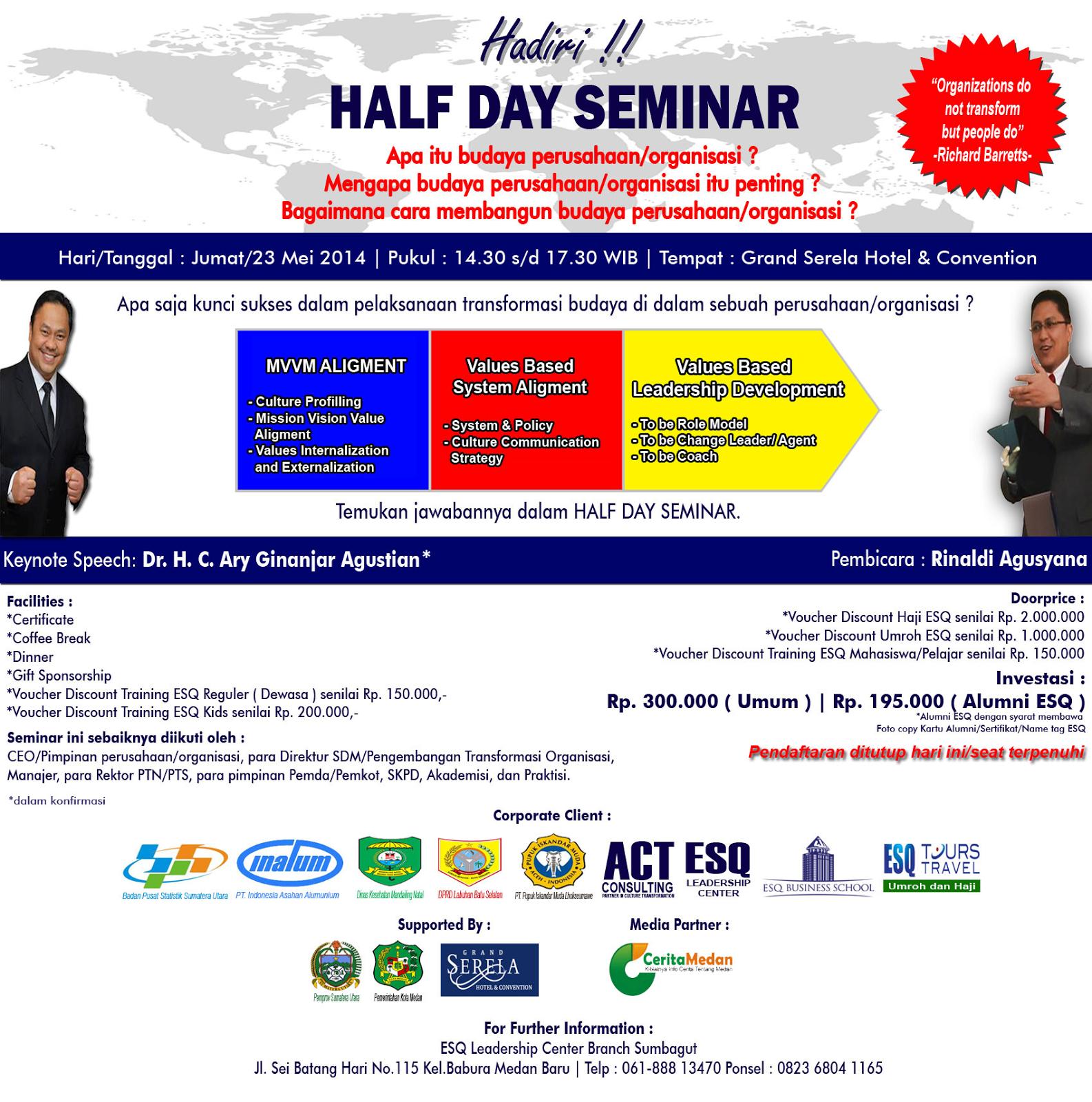 Half Day Seminar