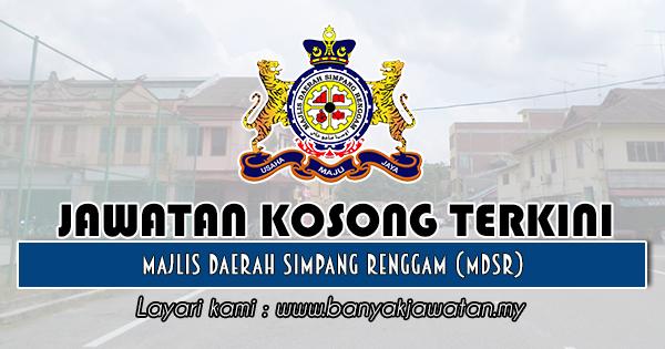 Jawatan Kosong 2019 di Majlis Daerah Simpang Renggam (MDSR)