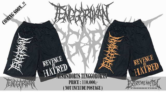 MEN'S SHORTS TENGGOROKAN - Revenge By Hatred