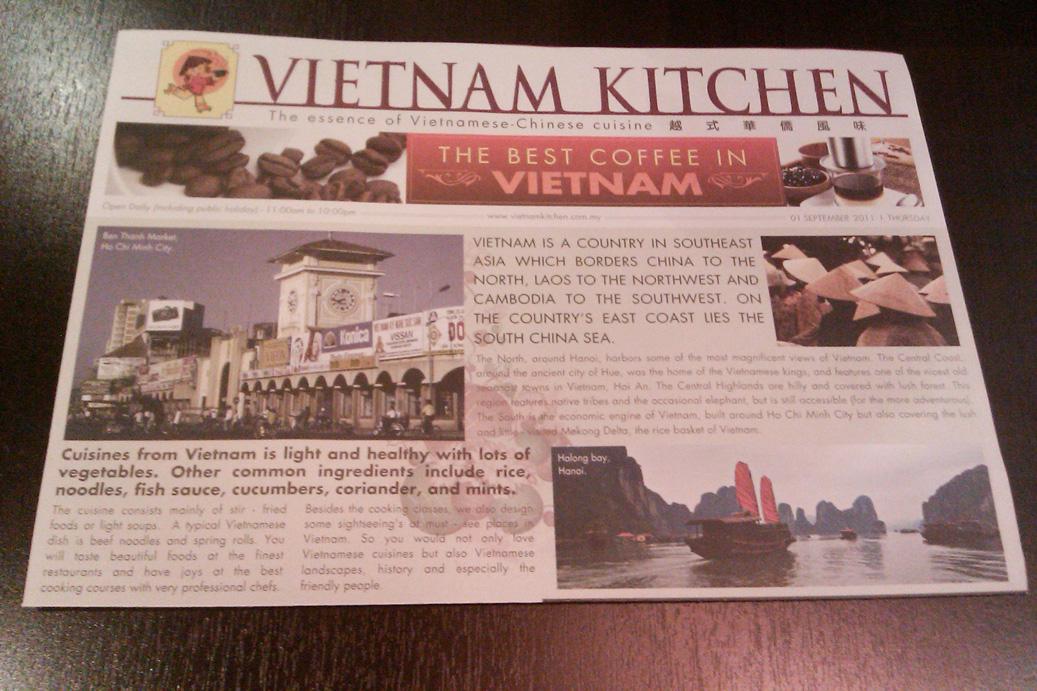PawPrints in Pizza Sauce Vietnam Kitchen  1 Utama PJ