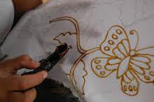 Cara Membuat Batik Kupu Kupu Rumah Kreative