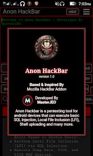 Anon Hackbar 2020