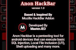 Anon HackBar Version 1.0 (HackBar Mobile Version)