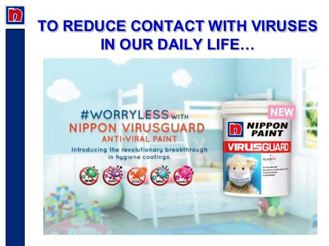 VirusGuard, Wellness For Children Nippon Paint,
