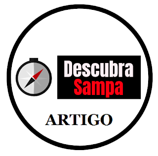 Logomarca Descubra Sampa - artigos