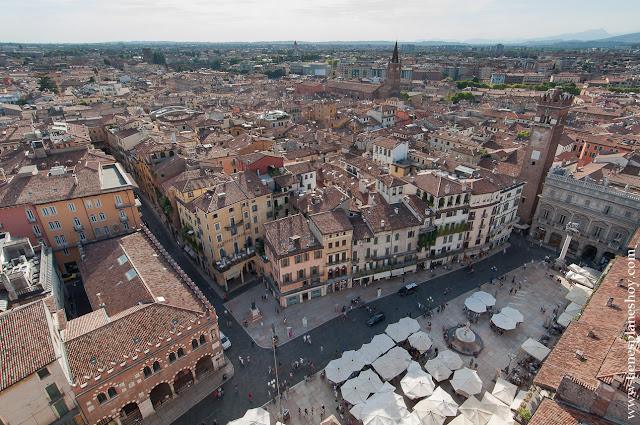Vistas de Verona viaje Italia mirador
