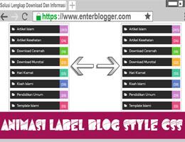 MempercantikBLabelBdiBBlog - Cara Memperkeren Label di Blog Dgn CSS