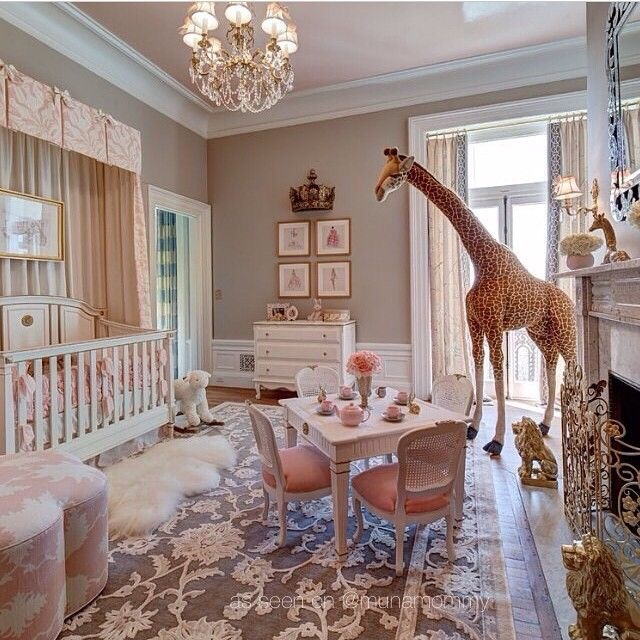 Parisian Baby Nursery Design Pictures Remodel Decor And: A Personal Style, Beauty And