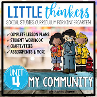https://www.teacherspayteachers.com/Product/Little-Thinkers-Social-Studies-UNIT-4-My-Community-2947349