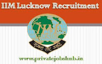 IIM Lucknow Recruitment