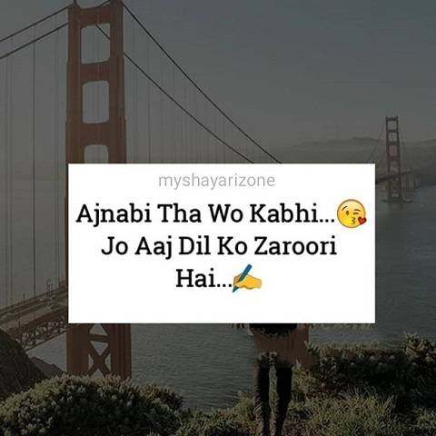 Best 2 Lines Love Shayari Whatsapp Status Image Hindi Wallpaper Poetry