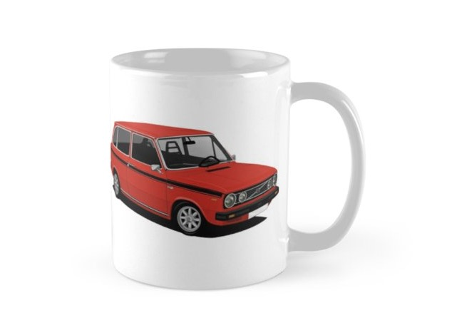 Volvo 66 Combi Kombi coffee mug