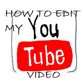 Begini Cara Edit Video Youtube Yang Sudah Di Upload
