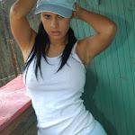Andrea Rincon, Selena Spice Galeria 33: Gorra Azul, Cachetero Azul Foto 36