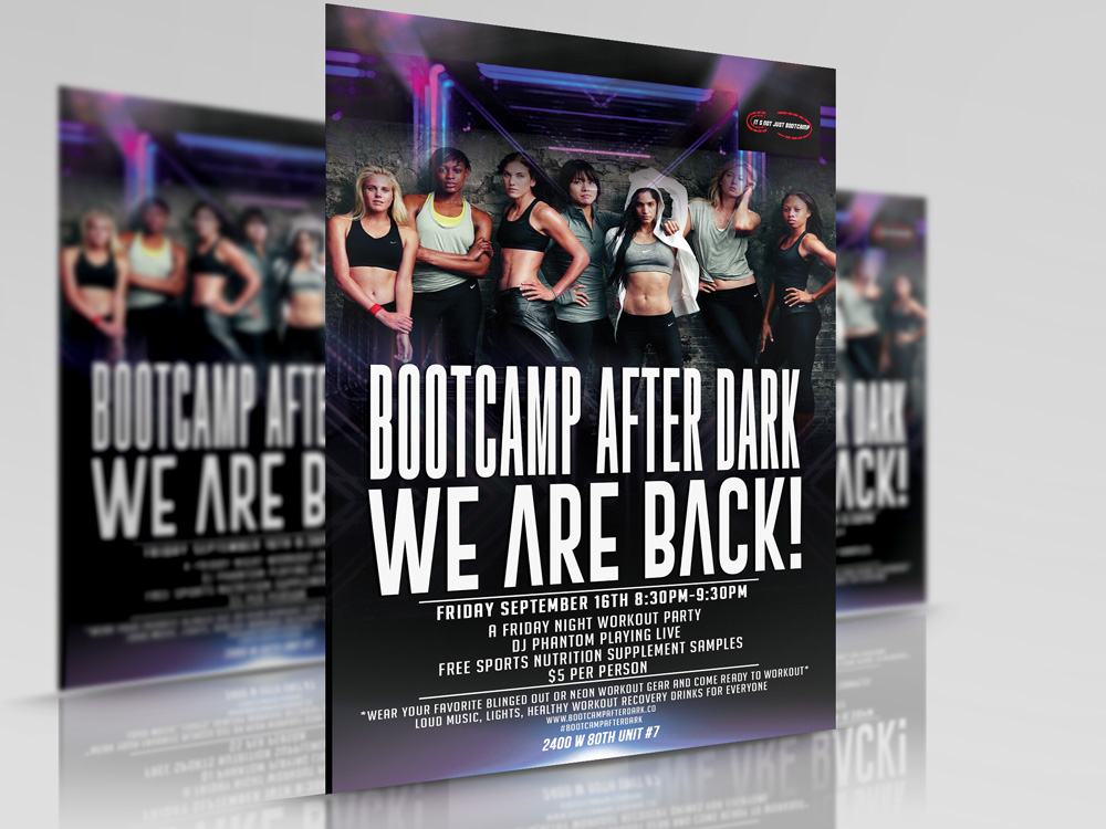 South Florida Boot Camp Fitness Program Bootcamp After Dark