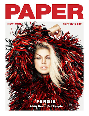Fergie Covers Paper
