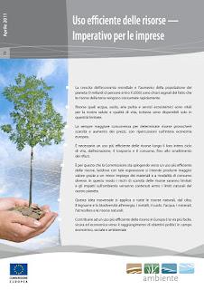 Uso efficiente delle risorse —  Imperativo per le imprese