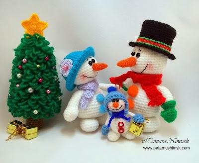 Arbol de Navidad en Crochet. Amigurimi