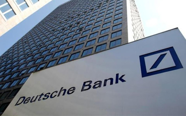 Νέο ιστορικό χαμηλό για τη μετοχή της Deutsche Bank