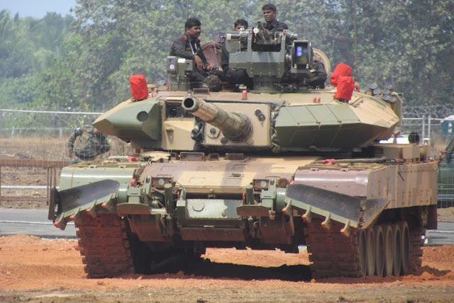 Основной индийский боевой танк Арджун
