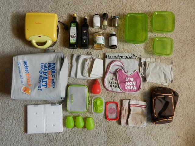 || Deux semaines de vacances, 2 adultes, 2 enfants, je mets quoi dans mes valises ? - Cuisine