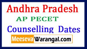 Andhra Pradesh AP PECET Web Counselling