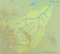 yellowstone river map