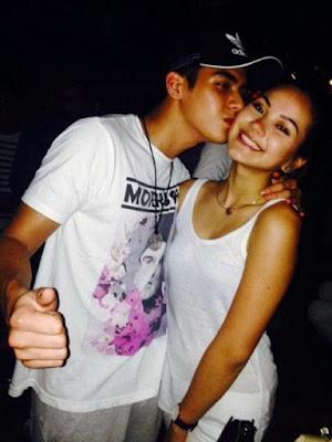 Al Ghazali Ciuman Dengan Alexandra Marina Daguise