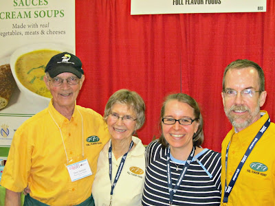 MI Gluten Free Gal with the Swanson Family at the GFAF Expo