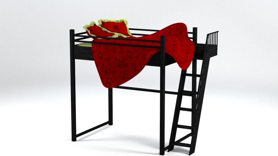 mod le lit mezzanine double la troisi me dimension. Black Bedroom Furniture Sets. Home Design Ideas