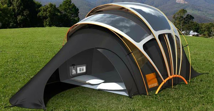 Isnu0027t technology amazing? Some people who hate c&ing might change their tune if they had one of these! Share this incredible innovation with your family ... & This tent will change the way we think of camping! You have to see ...