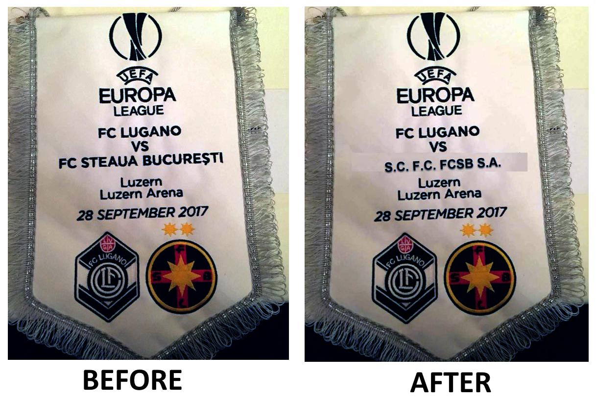 Lugano vs. FCSBB