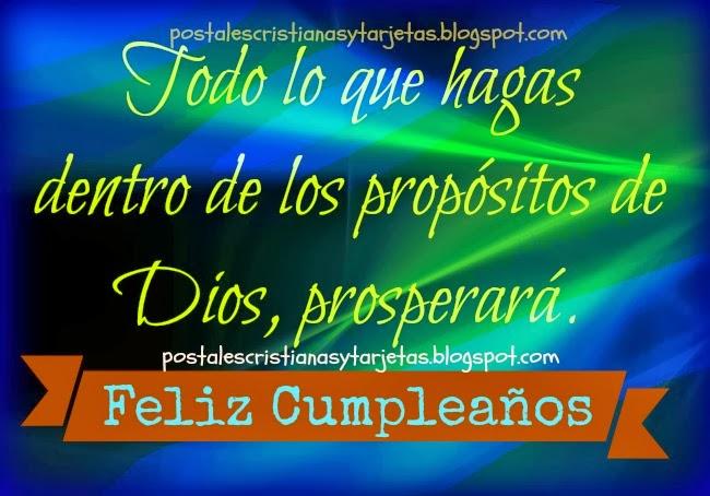 Un Feliz Cumpleanos Con Prosperidad Postales Cristianas Y Tarjetas