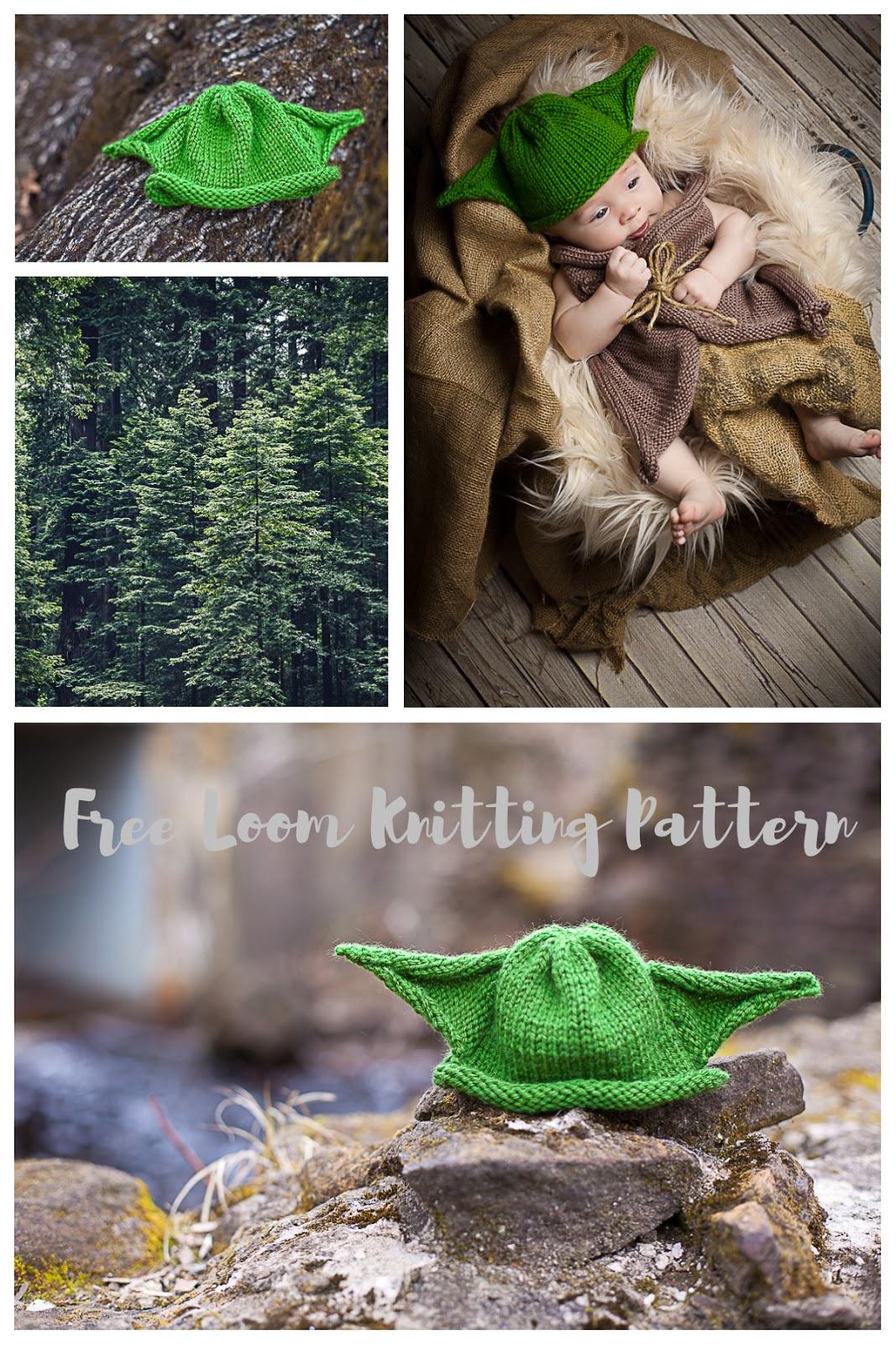 loom knit yoda hat, loom knit yoda robe, baby robe, baby hat, loom knit, star wars, yoda, loom knit robe, loom knit jedi set, loom knit jedi robe, jedi, free loom knitting patterns, loom knit
