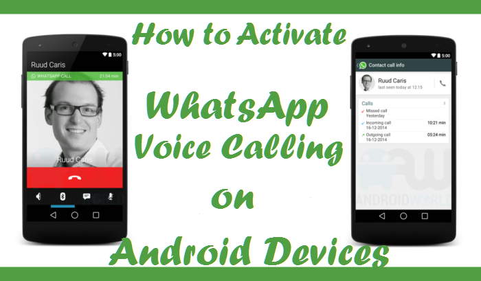 WhatsApp Free Voice Calling Android apk apps