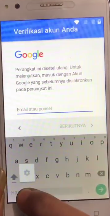 Cara Bypass Akun Google Frp Advan I5c Terminal Android