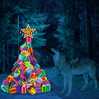 WowEscape Wild Moon Christmas