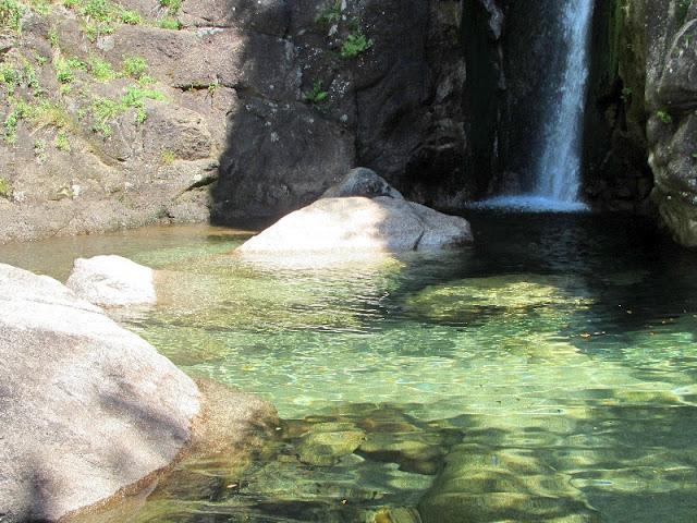 queda d'agua no parque do gerês