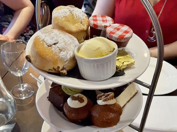 Afternoon tea at the Hilton, York